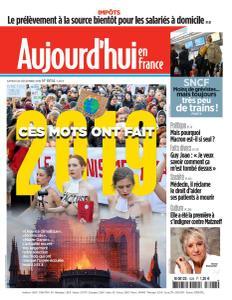 Aujourd'hui en France - 28 Décembre 2019