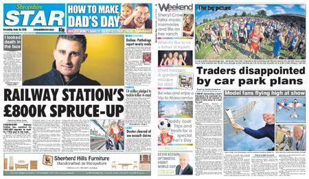 Shropshire Star Shrewsbury Edition – June 16, 2018