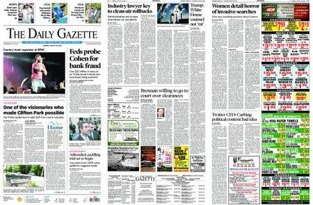 The Daily Gazette – August 20, 2018