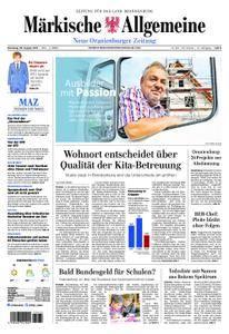 Neue Oranienburger Zeitung - 29. August 2017