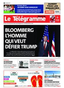 Le Télégramme Brest Abers Iroise – 09 février 2020