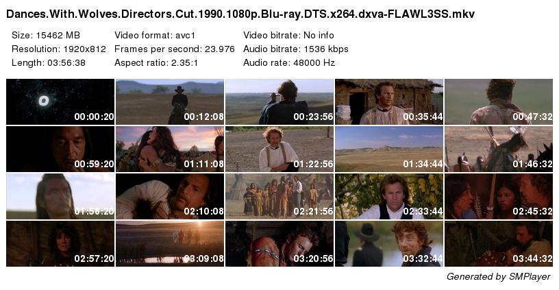 Dances with Wolves (Directors Cut edition) (1990)