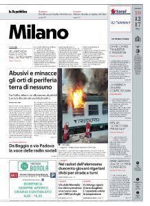 la Repubblica Milano - 10 Dicembre 2017