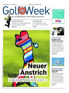 Golf Week – Oktober 2018