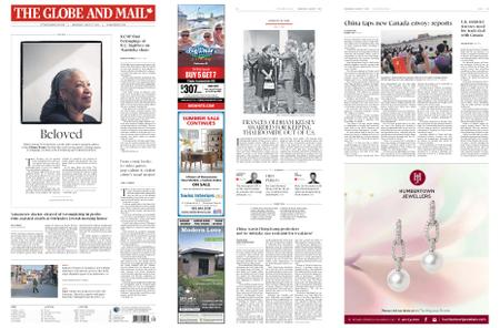 The Globe and Mail – August 07, 2019