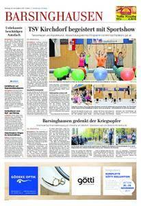 Barsinghausen/Wennigsen - 20. November 2017