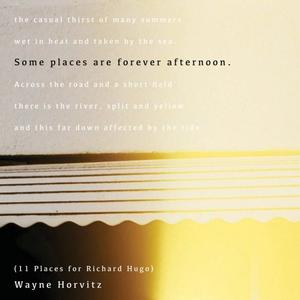 Wayne Horvitz - Some Places Are Forever Afternoon (11 Places For Richard Hugo) (2015) [Official Digital Download 24/96]