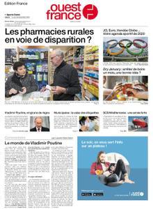 Ouest-France Édition France – 30 décembre 2019