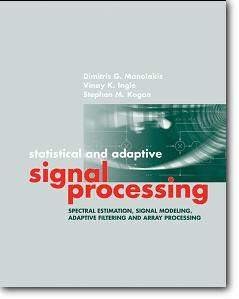 Dimitris G. Manolakis, et al, «Statistical and Adaptive Signal Processing»