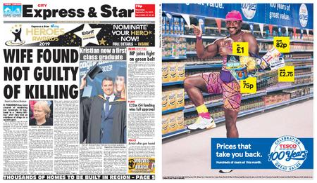 Express and Star City Edition – September 19, 2019