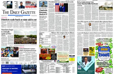 The Daily Gazette – August 29, 2020