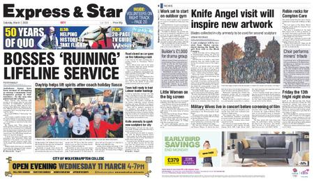 Express and Star City Edition – March 07, 2020