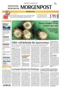 Solinger Morgenpost – 21. Januar 2020