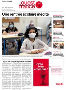 Ouest-France Édition France – 01 septembre 2020