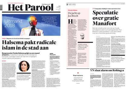 Het Parool – 23 augustus 2018