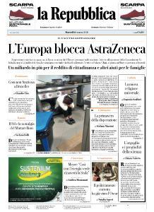 la Repubblica - 16 Marzo 2021