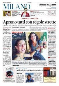 Corriere della Sera Milano – 14 maggio 2020