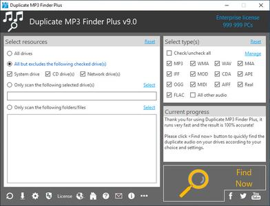 TriSun Duplicate MP3 Finder Plus 9.0 Build 018 Multilingual