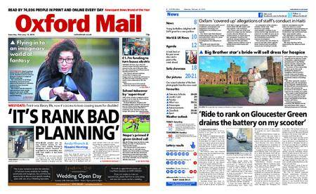 Oxford Mail – February 10, 2018