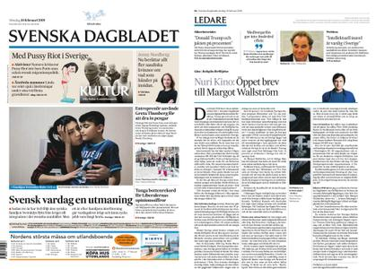 Svenska Dagbladet – 10 februari 2019