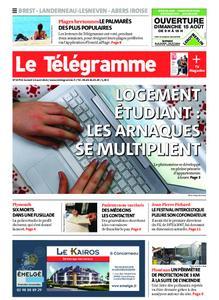 Le Télégramme Brest Abers Iroise – 14 août 2021