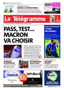 Le Télégramme Brest Abers Iroise – 12 juillet 2021
