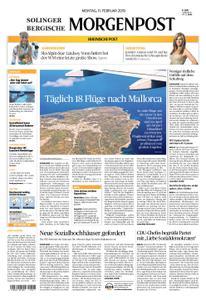 Solinger Morgenpost – 11. Februar 2019