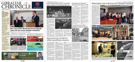 Gibraltar Chronicle – 23 October 2018