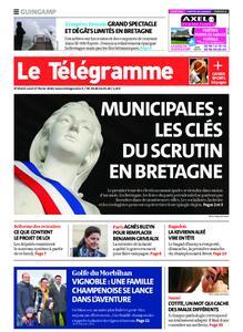 Le Télégramme Guingamp – 17 février 2020