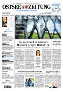 Ostsee Zeitung Wolgast - 02. Oktober 2018