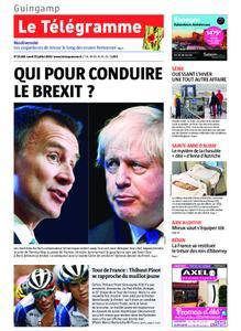 Le Télégramme Guingamp – 22 juillet 2019