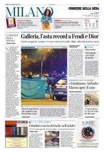 Corriere della Sera Milano – 18 febbraio 2020