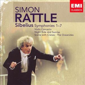 Simon Rattle - Sibelius: Symphonies Nos. 1-7 (5CD) (2007)