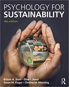 Psychology for Sustainability Ed 4
