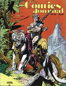 Comics Journal 078 1982-12 Archie Goodwin W
