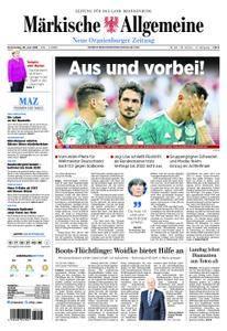 Neue Oranienburger Zeitung - 28. Juni 2018