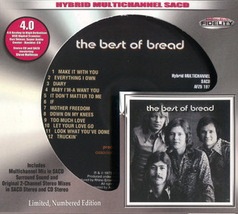 Bread - The Best Of Bread (1973) [Audio Fidelity 2015] MCH PS3 ISO + Hi-Res FLAC