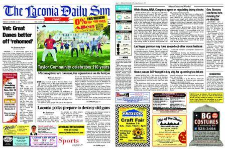 The Laconia Daily Sun – October 06, 2017