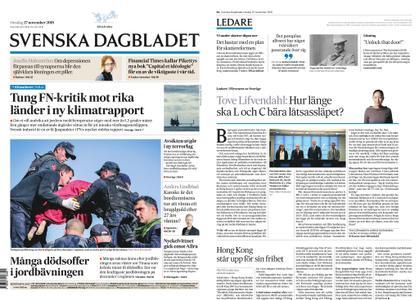 Svenska Dagbladet – 27 november 2019