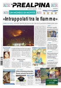 La Prealpina - 28 Ottobre 2017