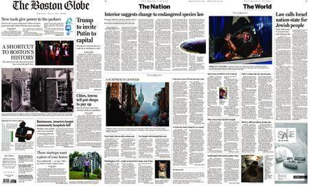 The Boston Globe – July 20, 2018