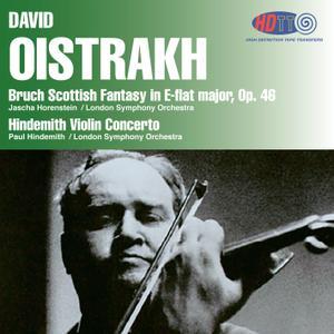 David Oistrakh, LSO - Bruch: Scottish Fantasy & Hindemith: Violin Concerto (1962/2014) [DSD128 + Hi-Res FLAC]