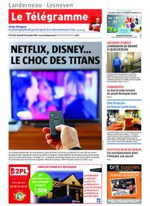 Le Télégramme Landerneau - Lesneven – 08 novembre 2019