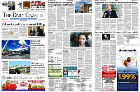 The Daily Gazette – June 18, 2021