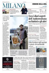Corriere della Sera Milano – 25 gennaio 2019