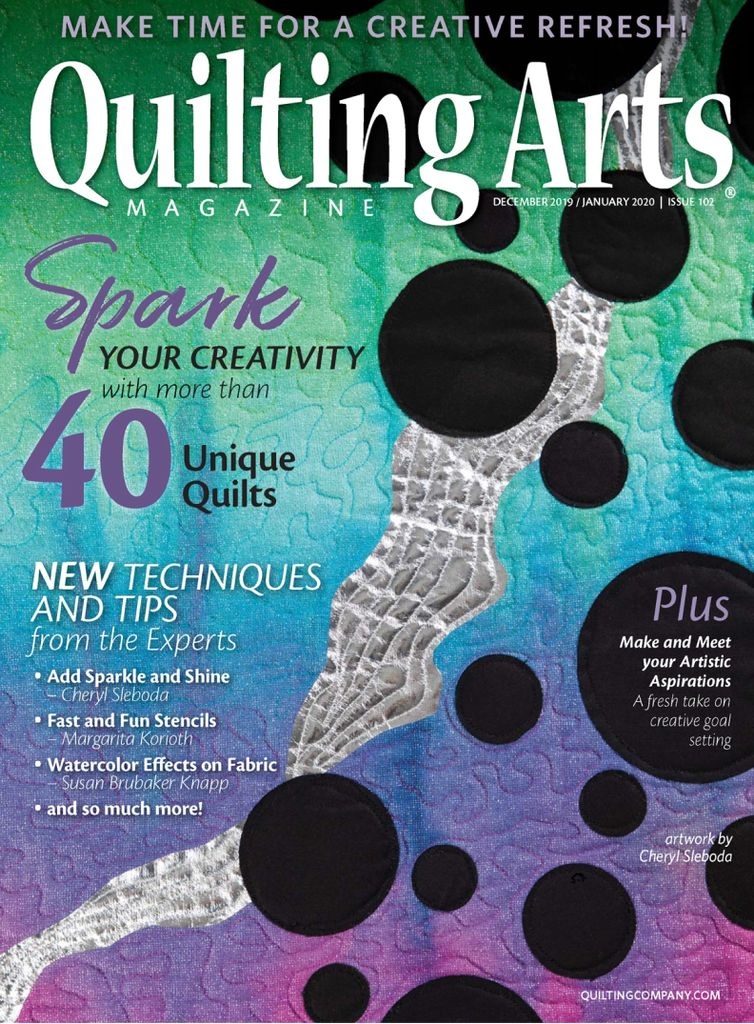 Quilting Arts - December/January 2019