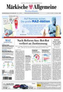 Märkische Allgemeine Westhavelländer - 11. November 2017