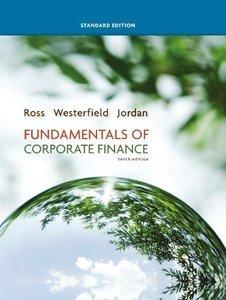 Fundamentals of Corporate Finance, Standard Edition (10th edition) (Repost)