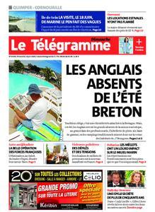 Le Télégramme Ouest Cornouaille – 14 juin 2020