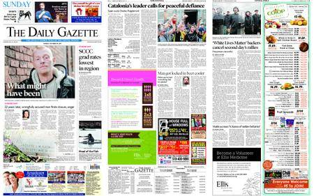 The Daily Gazette – October 29, 2017